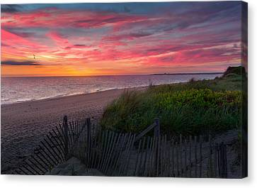 Herring Cove Beach Sunset Canvas Print
