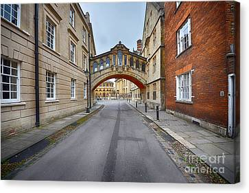 Lane Canvas Print - Hertford Bridge by Nichola Denny