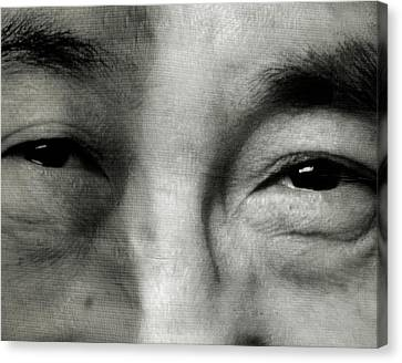 He's Got Dalai Lama Eyes - 16x20 Promo Canvas Print by Michael Evans