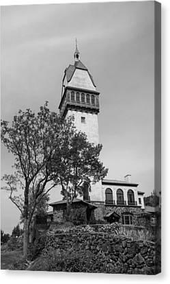Heublein Tower Bw Canvas Print