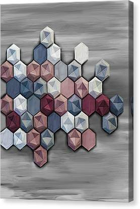 hex Canvas Print by Donald Lawrence