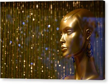 Hey Gold Looking Canvas Print by Jez C Self