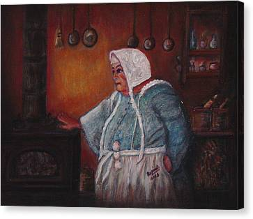 Hey Good Lookin' Whatcha Got Cookin'? Canvas Print by Regina Brandt