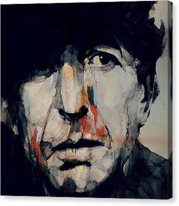 Hey That's No Way To Say Goodbye - Leonard Cohen Canvas Print