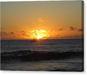 Ron Smith Canvas Print - Hi Sunset-1 by Ron Smith