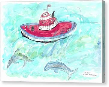 Hi Tide Canvas Print