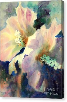 Hibicus Up Close Canvas Print