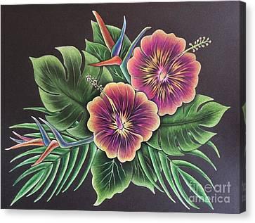Hibiscus Breeze Canvas Print