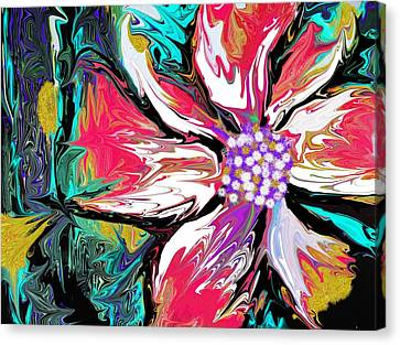Hibiscus Canvas Print by David Raderstorf