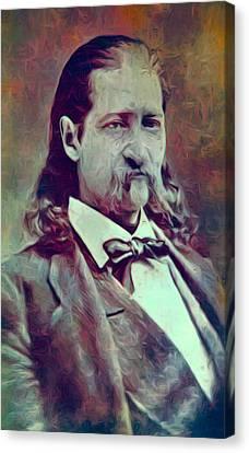 Hickok Painterly Canvas Print