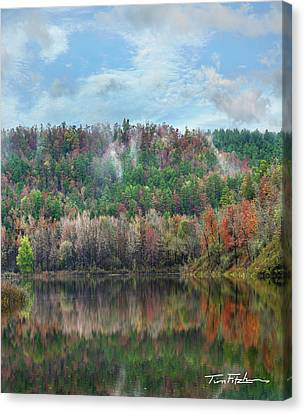 Hickory Forest Canvas Print