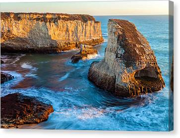Hidden Cove Canvas Print
