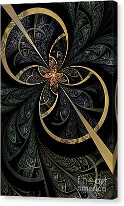 Hidden Depths Canvas Print by John Edwards