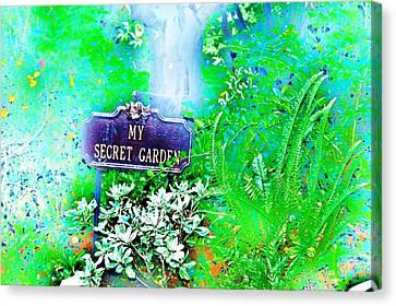 Hidden Fantasy Canvas Print