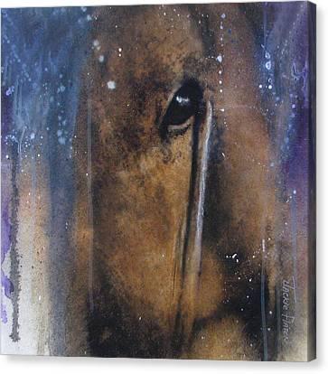 Hidden Horse Canvas Print by Jackie Flaten