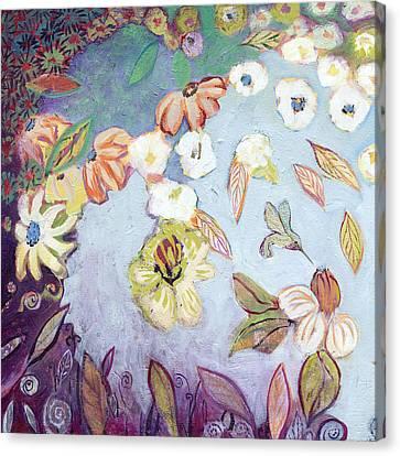 Hidden Lagoon Part I Canvas Print by Jennifer Lommers
