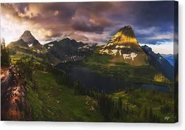 Canvas Print - Hidden Lake Sunrise by Peter Coskun