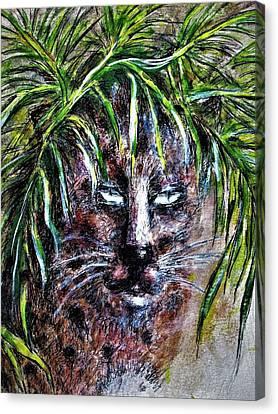 Prowler Canvas Print - Hidden by Liz Lafalce