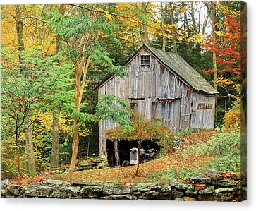 Litchfield County Canvas Print - Hidden Nook by Expressive Landscapes Fine Art Photography by Thom