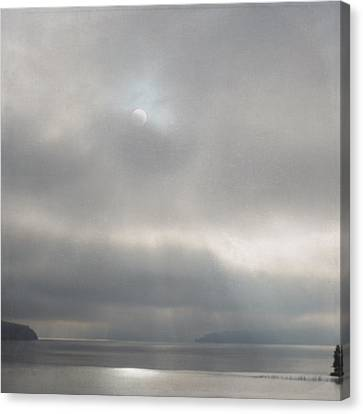 Canvas Print featuring the photograph Hidden Rays by Sally Banfill