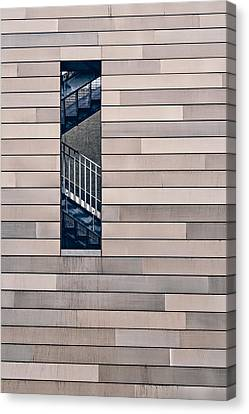 Hidden Stairway Canvas Print by Scott Norris