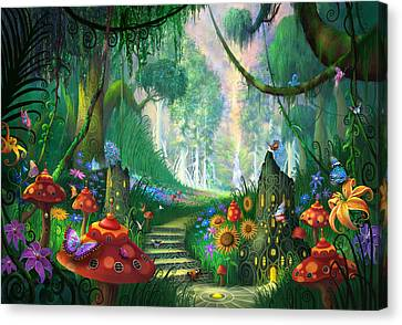 Hidden Treasure Canvas Print by Philip Straub