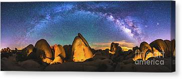 Hidden Valley Milky Way Canvas Print