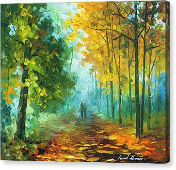 Hide And Seek  Canvas Print by Leonid Afremov