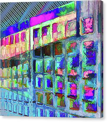 Canvas Print featuring the digital art Hide And Seek by Wendy J St Christopher