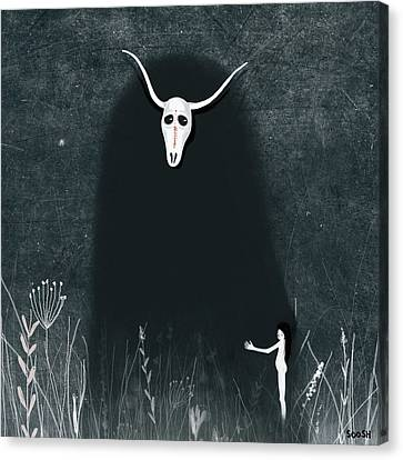 Hide My Soul Canvas Print