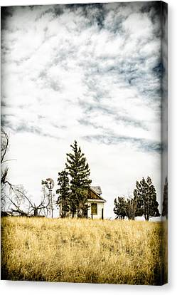 Old Cabins Canvas Print - Hideaway by Humboldt Street