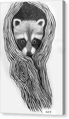Hiding Out Canvas Print