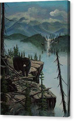 High Country Canvas Print by Bobbie Roberts
