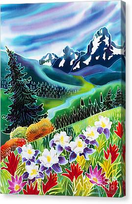 Alpine Canvas Print - High Country by Harriet Peck Taylor