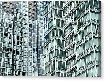 High Density Living Vancouver Canvas Print by John  Mitchell