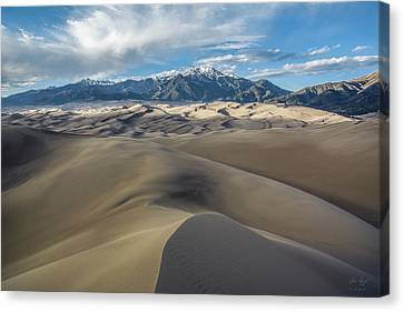 High Dune - Great Sand Dunes National Park Canvas Print by Aaron Spong