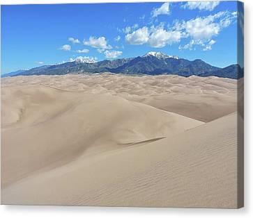 High Dune View Canvas Print