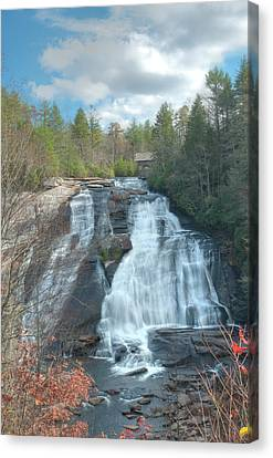 High Falls-dupont State Park Canvas Print