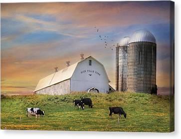 High Falls Farm Canvas Print