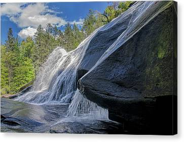 Canvas Print featuring the photograph High Falls One by Steven Richardson
