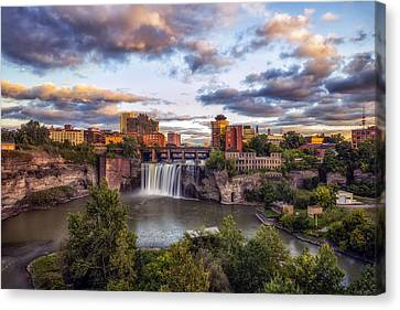 High Falls Rochester Canvas Print
