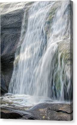 Canvas Print featuring the photograph High Falls Three by Steven Richardson