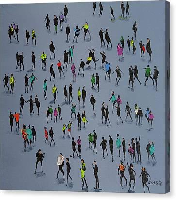 High Fives Canvas Print
