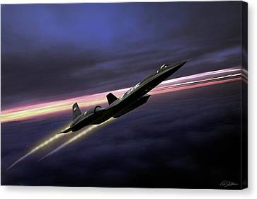 Johnson Canvas Print - High Flight by Peter Chilelli