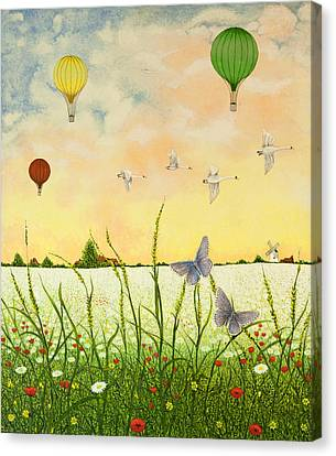 High Flyers Canvas Print by Pat Scott