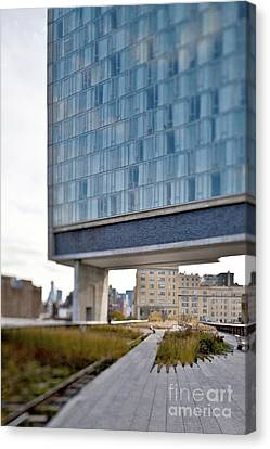 High Line Park And Hotel Canvas Print by Eddy Joaquim
