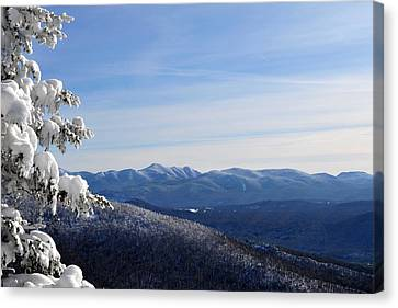 High Peaks Canvas Print