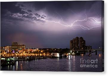 High Point Place Nights Canvas Print