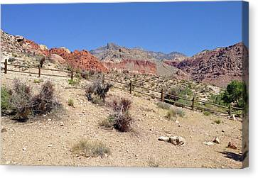 High Range View Canvas Print