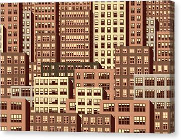 High Rise 5 Canvas Print by Robert Todd